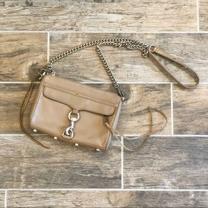 Rebecca Minkoff | Tan Leather Mini MAC Crossbody